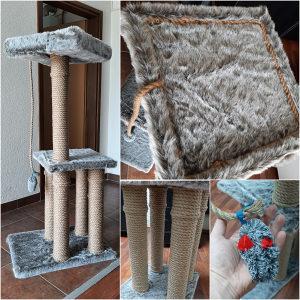Penjalica, grebalica za mačke - 130 cm (ručni rad)
