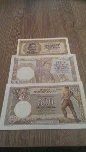 Novčanice 1941-1942 godine