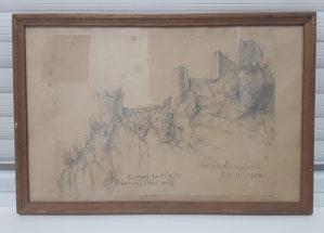 Grafika Zvornik Stare kule Hrvoje Saracevic