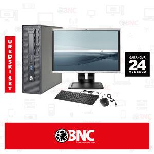Uredski set  HP 800 G1 i5 120 SSD + HP LA2205wg