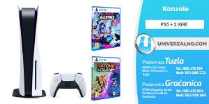 PS5 PlayStation 5 + 2 Igre (dostupno od 17.09.)