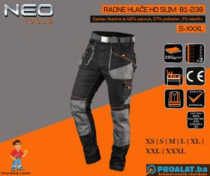 NEO Radne hlače HD slim S-XXXL 81-238