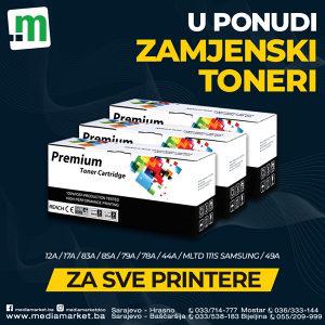 Zamjenski toneri za sve printere