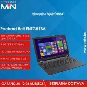 Packard ENTG81BA, Intel N3050 1.6/4/120SSD/DVD-RW