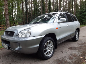 Hyundai Santa Fe 2.0 CRDI, 4x4 , 2004 g