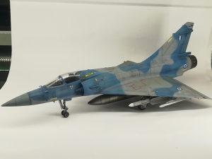 Maketa aviona Mirage 2000