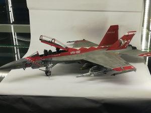 Maketa aviona F/A-18F Super Hotnet