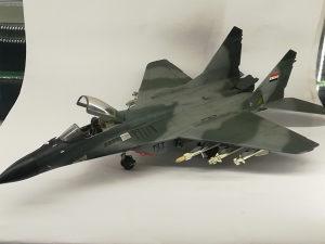 Maketa aviona MiG-29A Iračkog vazduhoplovstva