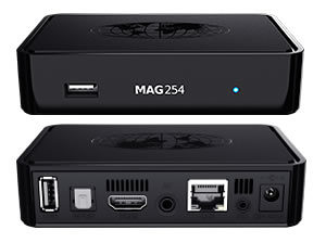 iptv box mag254