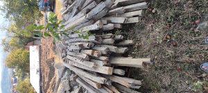 Drvene hrastove grede