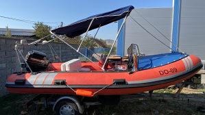 RIB čamac sa prikolicom