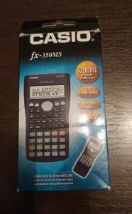 Casio fx-350MS digitron