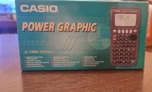 Casio fx-7400G PLUS-GY digitron