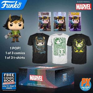 Funko Pop Loki Mystery Box