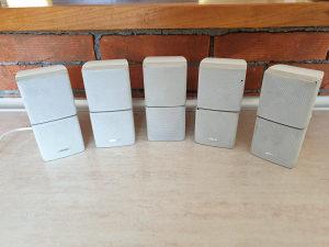 Zvucnici Bose sateliti beli male kocke