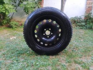 Točkovi čelični 5x108 sa zimskim gumama 205/55/16 Tigar