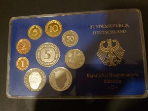 Njemacke kovanice 1988 Munchen