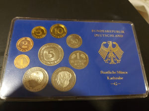 Njemacke kovanice 1975 Karlsruhe