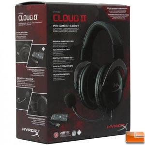HyperX Cloud II headset Gun Metal