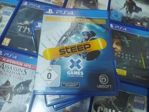 Steep  x gold edition PS4 igre