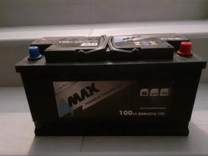 Akumulator 100AH Nov bio na autu par dana