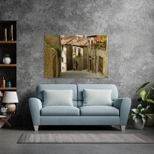 Canvas slika - Stari grad Cortona, Toskana, Italija