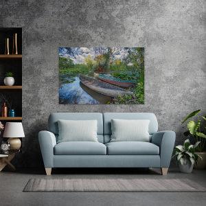 Canvas slika - Hutovo blato, Stari Čamac, Park, BA