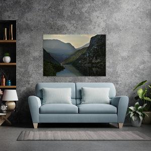 Canvas slika - Raška gora, rijeka Neretva, Mostar, BA