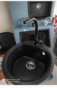 Ulgran Granitni sudoper + Slavina