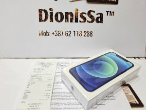 IPhone 12 - 64GB Blue /NOVO/Garancija 12 mjeseci