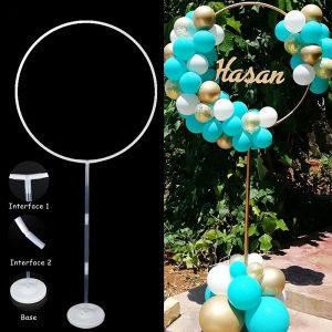 Plastični držač set za balone stalak okrugle 144cm