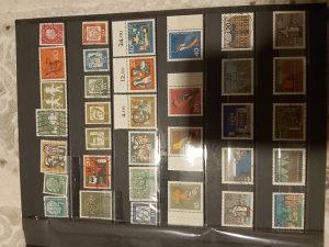 Deutsche bundespost postanske markice