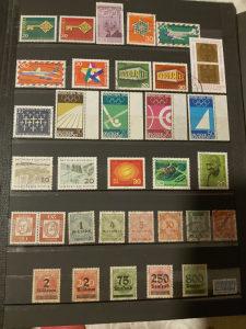 Deutsche bundespost i deutsche reich postanske markice