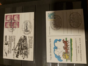 Njemacke razglednice 1977/1978