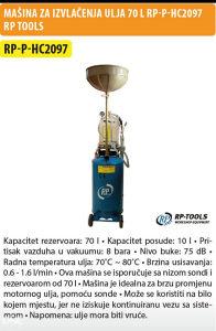 Masina za izvlacenje ulja RP