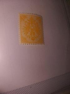 AUSTROUGARSKA MARKICA 1901.GODINA PRUGAST PAPIR