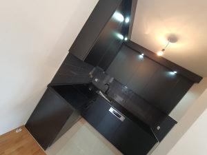 Kuhinje po mjeri crna mat 061851578 kuhinja