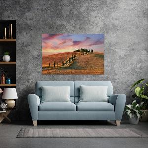 Canvas slika - Toskana, Italija, Seoski krajolik