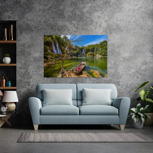 Canvas slike - Vodopad Kravice, Čamac, Mostar, BA