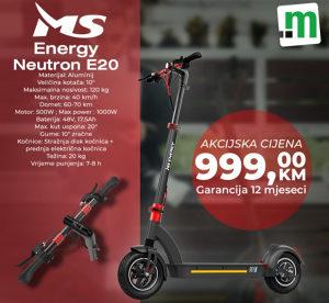 MS ENERGY E20 ELEKTRICNI ROMOBIL SKUTER TROTINET