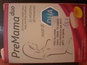 Poklanjam tablete(vitamine) PreMama za trudnice i dojil