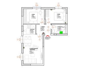 Apartman 43 m2 Jahorina Trnovo