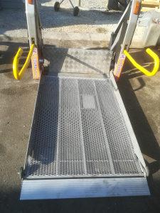 Auto lift rampa za invalide