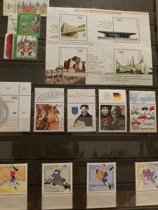 Njemacke postanske markice