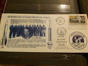 Prvi covjek na mjesecu pismo/koverta 1969