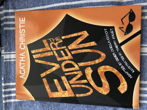 Agatha Christie Evil under the sun (Glanc)