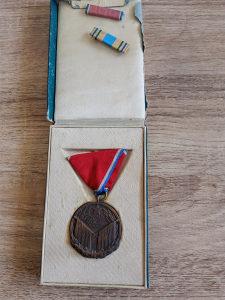 Medalja za vojnicke vrline