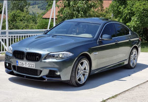 BMW F10 530D 525D M Optic Siber Navigacija TOP STANJE