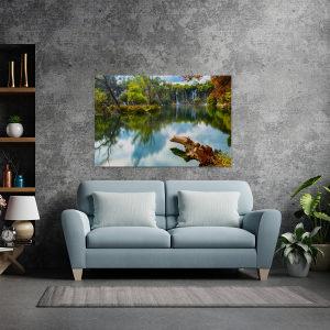 Canvas slika - Vodopad Kravice, Hercegovina, Mostar, BA