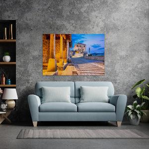 Canvas slika - Stari most, Mostar stari grad, BA